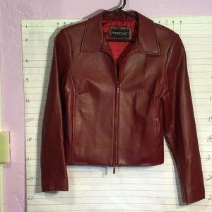 RAMPAGE women's jacket  sz ?  dark red